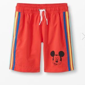 NWT Hanna Andersson Disney Mickey Swim Shorts